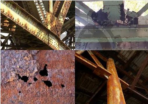 خوردگی سازه های فولادی