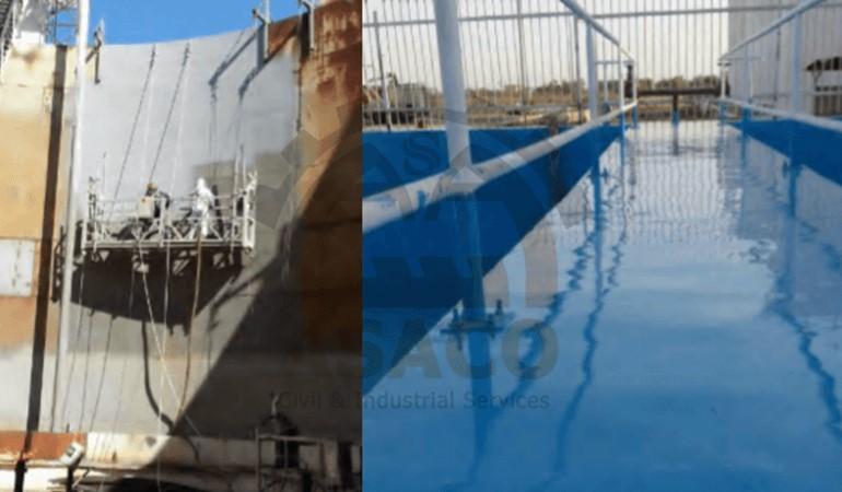 عایق بندی مخازن نفتی و سطوح با استفاده از پلی