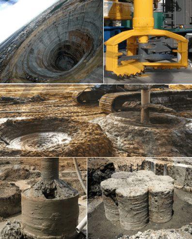 روش های اجرای اختلاط روش های اجرای اختلاط عمیق خاکعمیق خاک