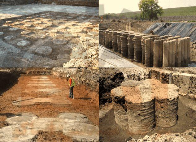 روش های اجرای ستون های اختلاط عمیق خاک به صورت منفرد و به هم پیوسته