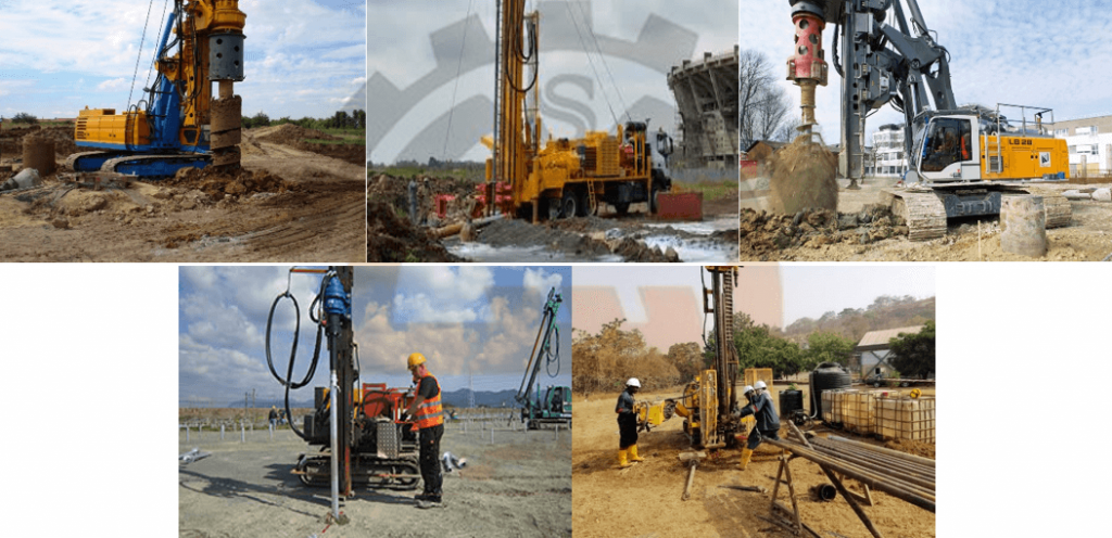 Manual and Machine drilling