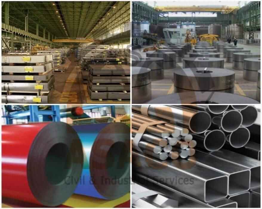 مقاوم سازی در صنعت فولاد